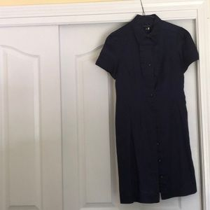 Banana Republic Dresses - Pristine Navy Shirt Dress by BR - Size 2